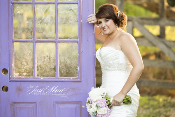 Purple Door Bride