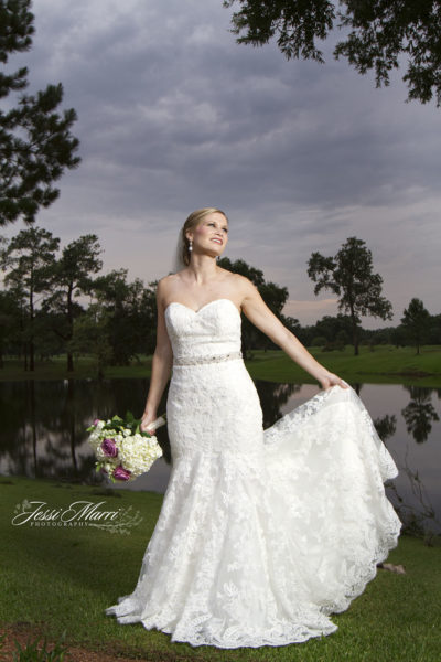 Storm Cloud Bridal Photo