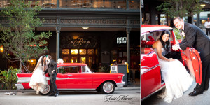 classic car wedding - brideside