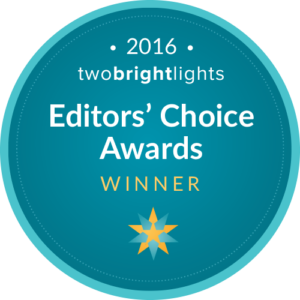 Two Bright Lights - 2016 Award Badge