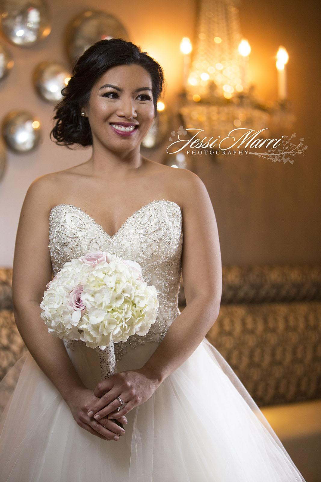 Houston Romantic Wedding Bridal Photography