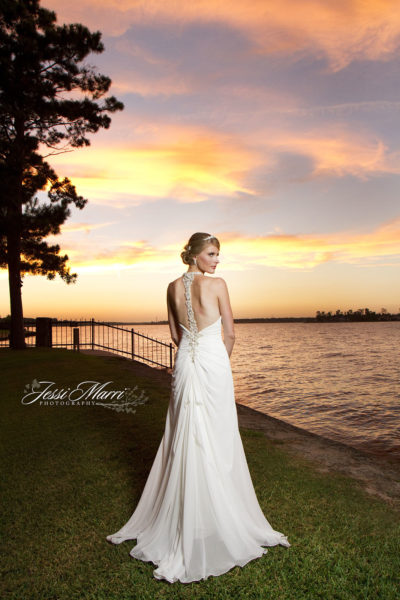 Lake Sunset Bride