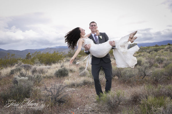 Vegas Desert Wedding